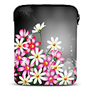"Flower Shadow 10 ""Neopren Tablet Sleeve für Samsung Galaxy P5100/N8000/iPad/Motorola Xoom"