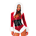 Sexy Robe Fantaisie fourrure de Noël Costume (2Pieces)