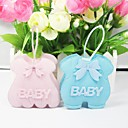 Lovely Baby Dress Design Favors Bags - Set of 12 (More Colors)