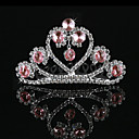 Beautiful Alloy With Rhinestone Flower Girl Tiaras
