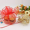 Baby Pram Design Favors Boxes With Organza Bags (Set of 12)