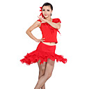 Dancewear Viscose/Lace Practice Latin Dance Top And Skirt for Ladies More Colors