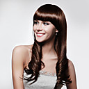 Capless Fashion Wave Hair Wig With Bang Multiple Colors Available