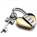Key Diamond Pendant For Men And Women(Free Chain)(3.4*2.1*.5CM)