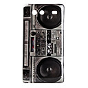 Recorder Pattern Hard Case for Samsung Galaxy S Advance I9070