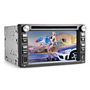 6,2 pouces 2 din lecteur DVD de voiture avec Bluetooth, GPS, iPod, RDS, carte SD / USB