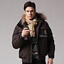 Men's Warm Winter Coat(Brown,L)