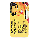 Woman Pattern Hard Case for iPhone 4/4S