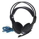 Perfect Cool LED Gaming Headset with Live Orignial Position Voice Microphone