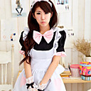 Cute Girl Black Polyester Maid Suit(2 pieces)