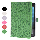 Cartoon Style PU Leather Case with Stand for iPad mini (Assorted Colors)