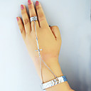 Vintage Cross Dames Ring Armband Set