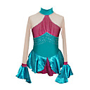 Girl's Figure Skating Dress (Green)