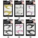 Christmas Style 2D Eyeshadow Eyeliner Sticker