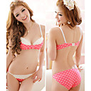 Frauen Schne Polka Dots BH Set