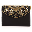 Charming Polyester with Flower Evening Handbag/Clutches(More Colors)