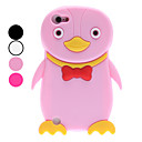 3D Design Cute Penguin Pattern Soft Case for iTouch 5 (Assorted Colors)