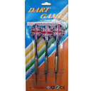 3PCS Union Jack Alloy Spare Alloy Tip Darts for Bullseye Game