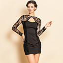 ts rendas sexy vestido bodycon backless