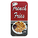 Chips Pattern Hard Case for iPhone 5