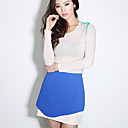 ALAN Wave Hem Contrast Color Shorts (More Colors)