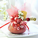 Beautiful Organza Favor Bag With Ribbon - Set of 6 (More Colors)