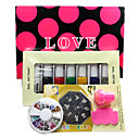 Nail Art DIY Print Color Printing Stamp Polish Machine Combination Kit one SET(M)