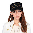Unisex Outdoor Casual Rivet Navy Cappello / Hat piatto (56-58cm)