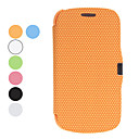 Football Grain Design PU Leather Case for Samsung Galaxy S3 Mini I8190 (Assorted Colors)