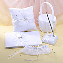 """Fairytale Dream"" Wedding Collection Set in White Satin (5 Pieces)"