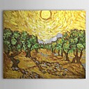 Hand-painted Oil Painting by Van Gogh with Stretched Frame