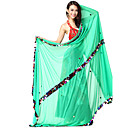 Performance Dancewear Chiffon with Sequins Belly Dance Veil For Ladies More Colors