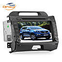 8 polegadas 2Din carro DVD Player para SPORTAGE com GPS, TV, jogos, Bluetooth