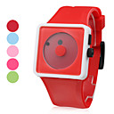 Unisex Funcky Style Silicone Wrist Watchs (5-Pack, Random Colors)