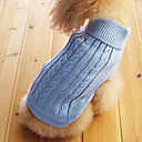 Classical European Style Sweater for Dogs Cats (Blue,XS-M)