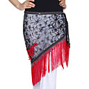 Dancewear Polyester With Embroidery/Tassels Performance Belly Hip Scarf For Ladies
