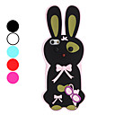 3D Design Rabbit Pattern Soft Case for iPhone 5 (Assorted Colors)