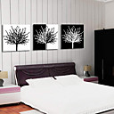 Stretched Canvas Print Contemporary Abstract Tree Set of 3 1301-0191