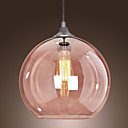 3 - Light Modern Glass Pendant Lights in Transparent Bubble Design