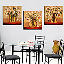 Stretched Canvas Print Still Life Set of 3 1301-0165