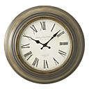 "17"" Retro Metal Wall Clock"
