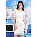 Women's High Waist Lace Skirt