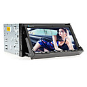 7 polegadas 2DIN carro DVD Player com GPS, Bluetooth, TV, RDS, iPod