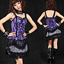 Short Floral Lace Cotton Punk Lolita Rock (62-80cm) (3 Farben)