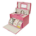 Princess Design Multifunction Leatherette Shape Makeup Box