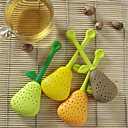Perfect Pear Shaped Silicone Tea Infuser Favor (More Colors)