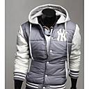 Men's Hooded Baseball Cotton Jacket