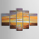 Hand-painted Oil Painting Abstract Landscape Set of 5 1302-AB0312