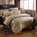 Milo Print Full 4-Piece Duvet Cover Set