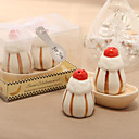 Sweet Dessert Design Ceramic Salt & Pepper Shakers (Set of 2)